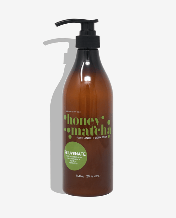 Honey Matcha Hand & Body Cream (25oz Pump)