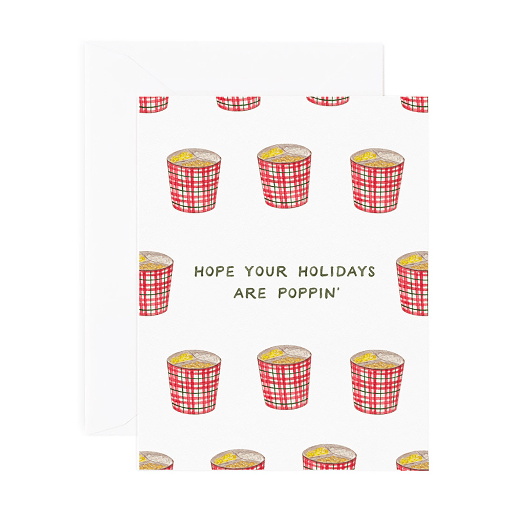 Poppin' Holiday Card