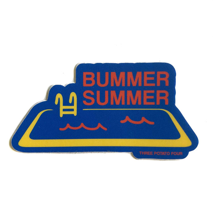 Three Potato Four - Sticker - Bummer Summer