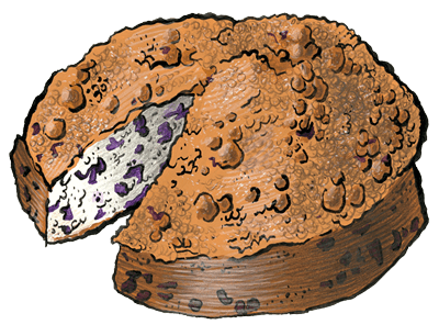 Zingerman's Blueberry Buckle Coffeecake, 1.25lbs