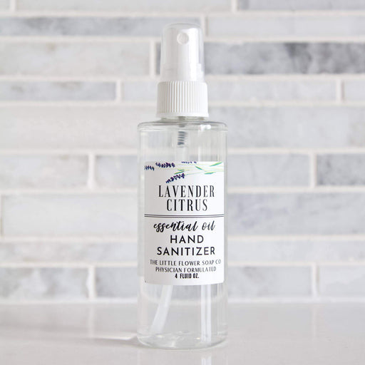 Lavender Citrus Hand Sanitizer Spray