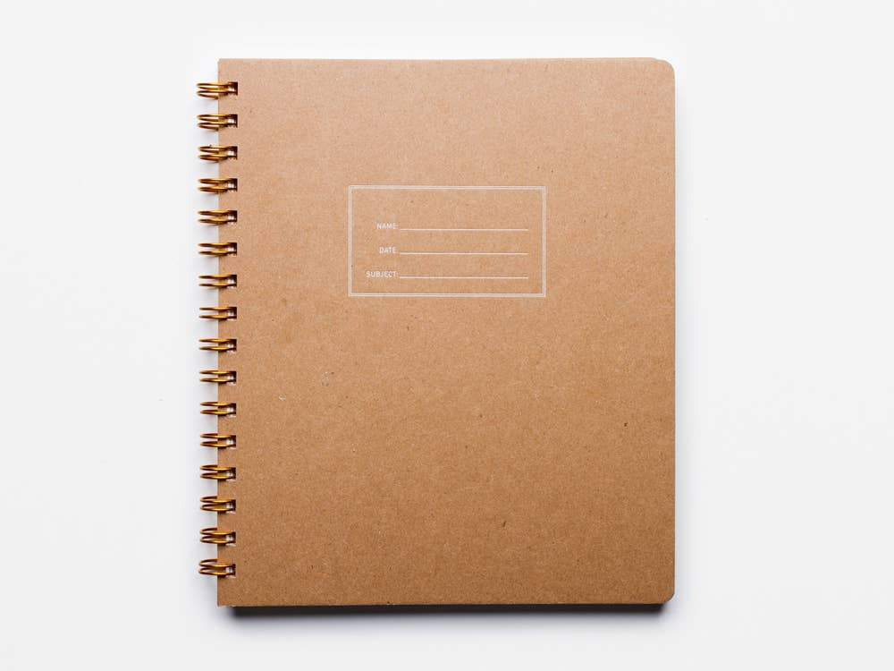 Standard Notebook, Kraft