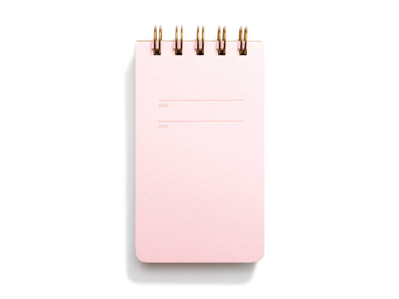 Reporter Notebook, Pink Lemonade