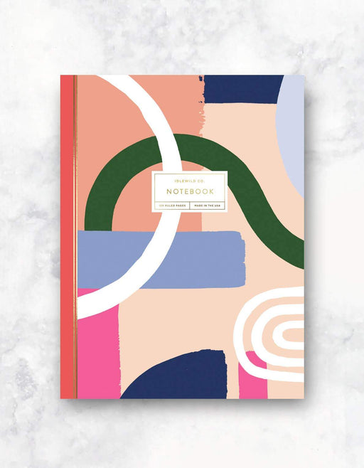 Color Block 120-Page Notebook
