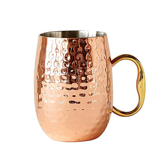 Hammered 16 oz. Moscow Mule Cup