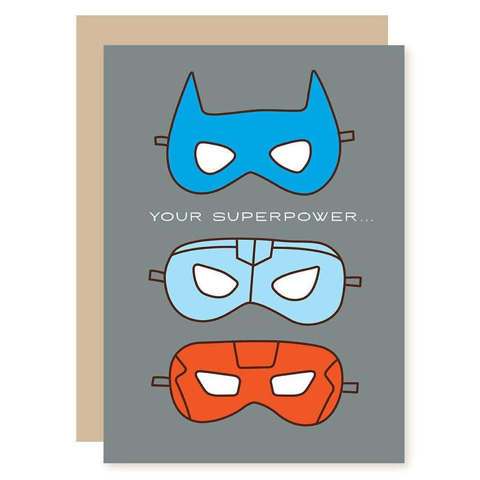 Superpower Father's Day Card