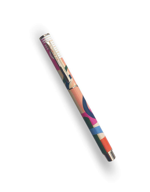 Color Block Rollerball Luxe Pen