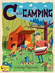 C is For Camping Kids Book