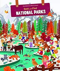 Seek & Find National Parks Book
