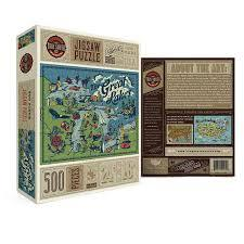Great Lakes 500 Piece Puzzle