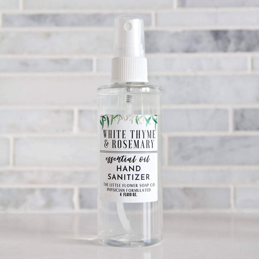 White Thyme & Rosemary Hand Sanitizer Spray