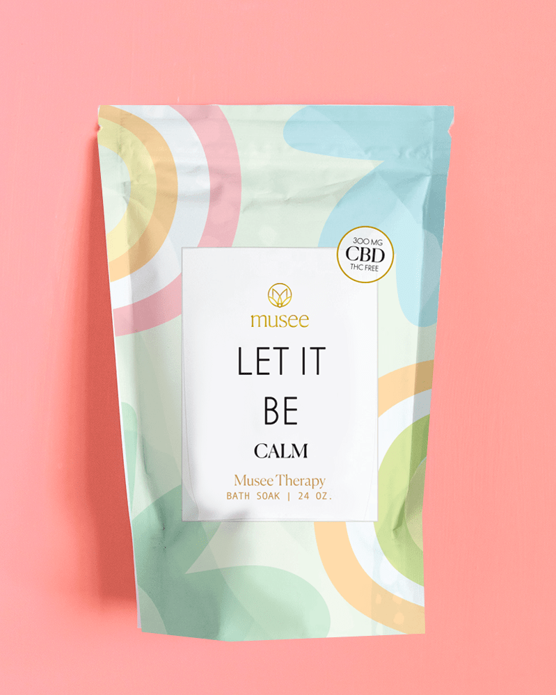 Let It Be with CBD Bath Soak