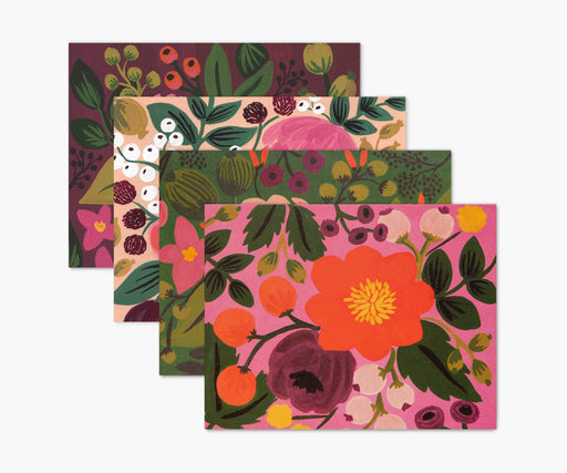 Assorted Vintage Blossoms Note Card Set
