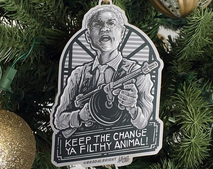 Keep the Change Home Alone Ornament