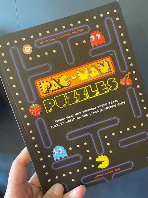 Pac-Man Puzzles Book