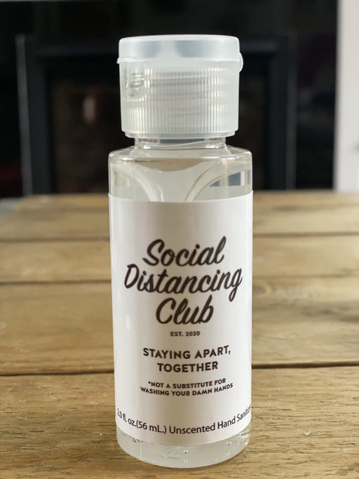 Social Distancing Club Cleansing Gel