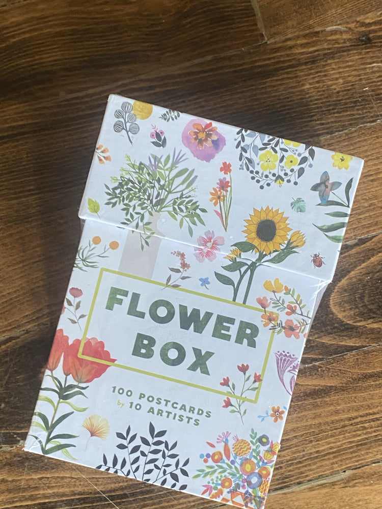 Flowers Postcard Set