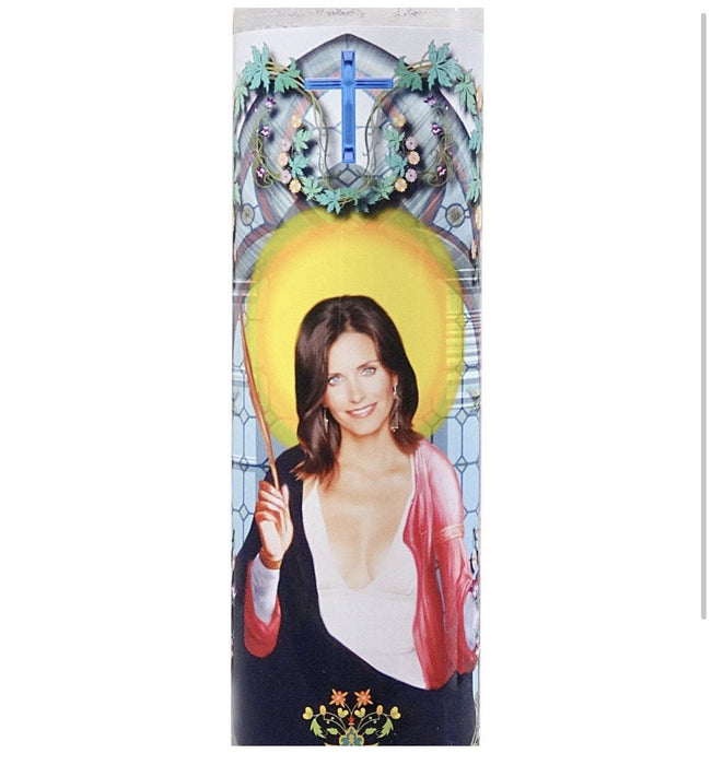 Monica Geller Prayer Candle