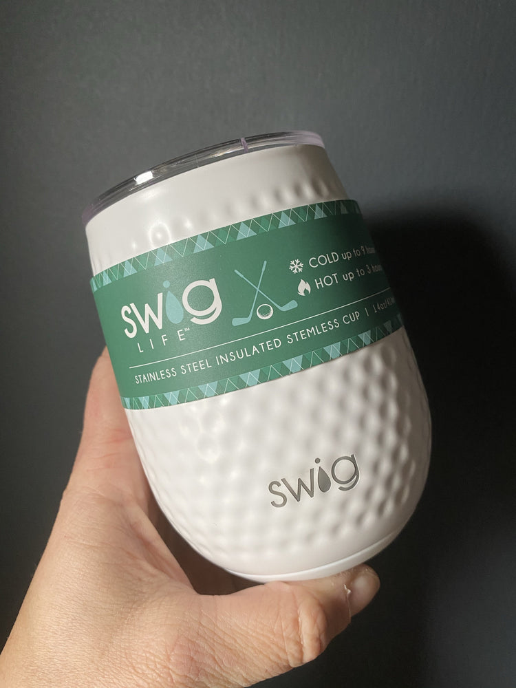 Swig Golf Ball Wine Tumbler