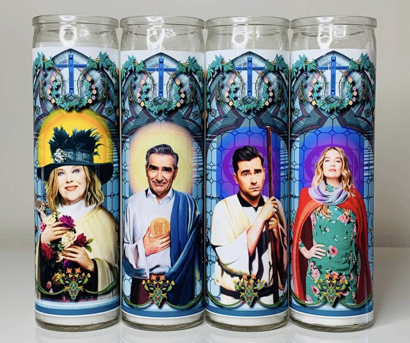 Alexis Rose Prayer Candle