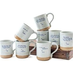 XOXO Quote Mugs