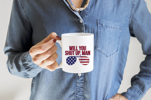 Joe Biden Shut Up Man Mug