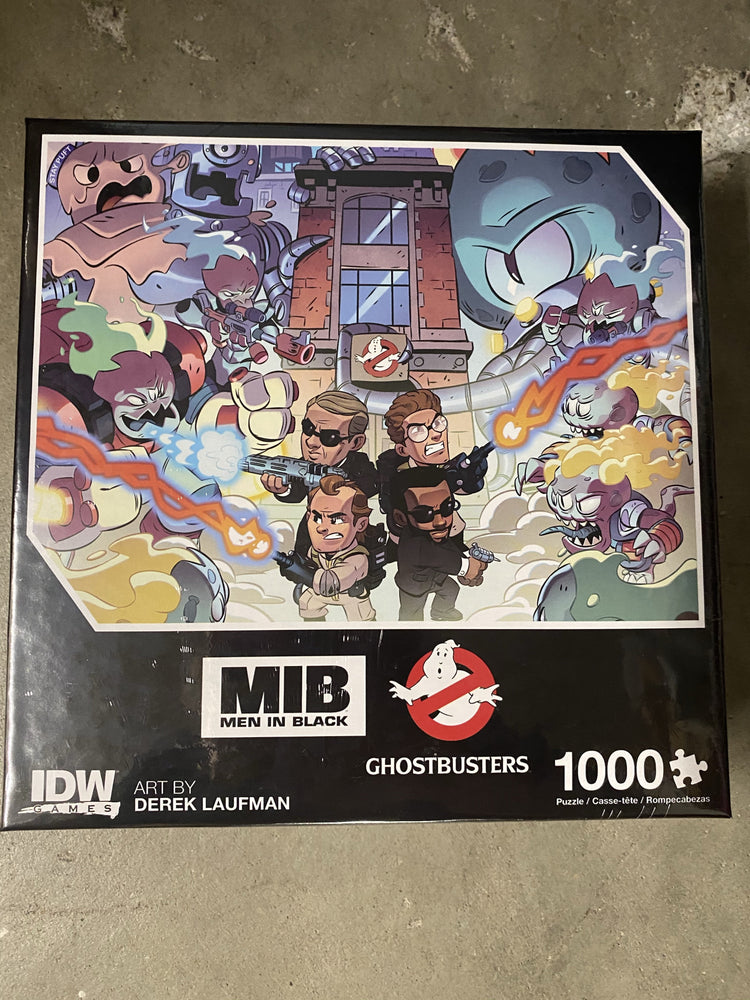 Ghostbusters Men In Black 1000 Piece Puzzle