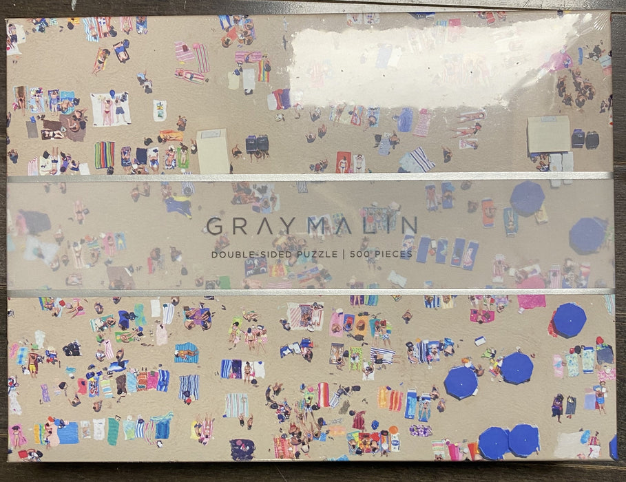 Gray Malin The Beach Puzzle, Double Sided, 500 Pieces