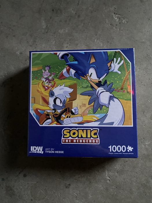 Sonic the Hedgehog 1000 Piece Puzzle