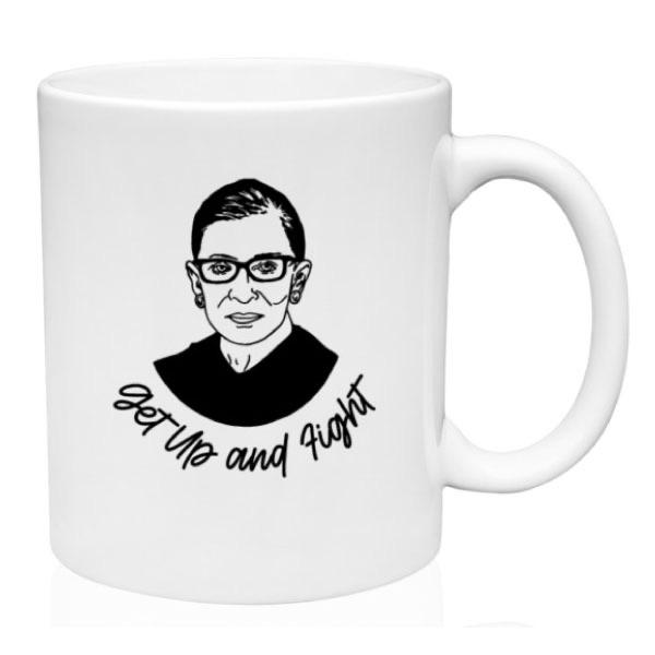 RBG Get Up and Fight Mug