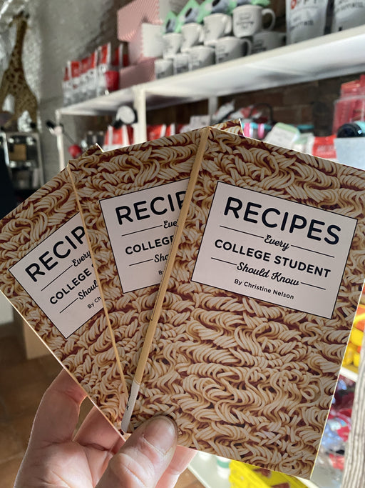 Recipes Every College Kid Should Know Gift Book