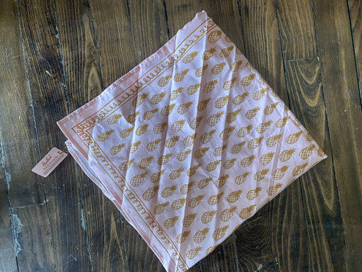 Hemlock Pineapple Pattern Bandana