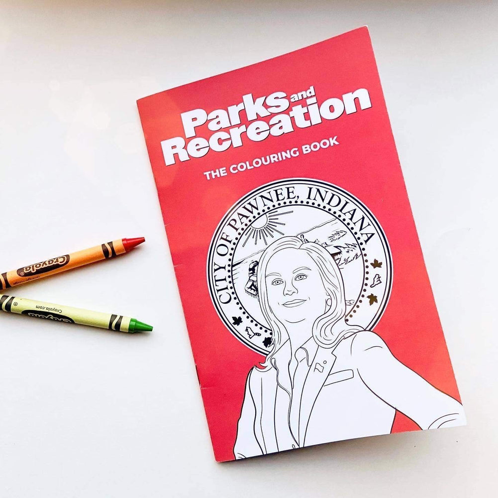 Parks & Rec Colouring Book