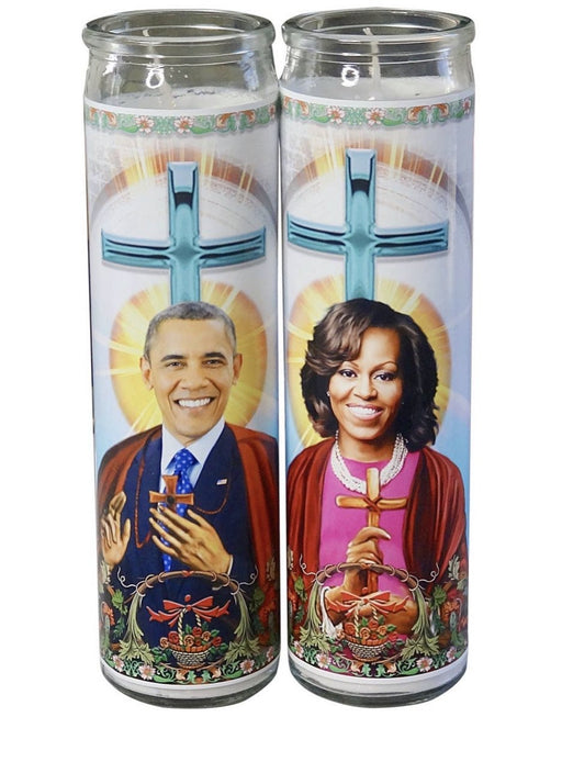 Barack Obama Prayer Candle