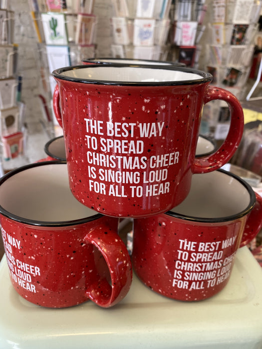 Elf Spread Cheer Mug