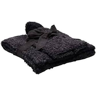 Barefoot Dreams Cozychic Carbon & Black Hat & Scarf Set