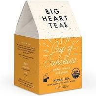 Cup of Sunshine Big Heart Tea Bags