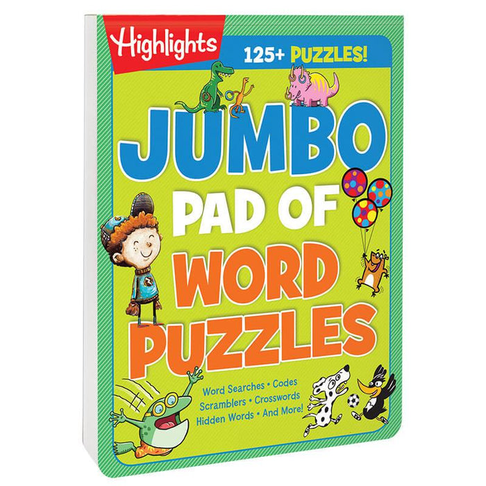 Jumbo Pad of Word Puzzles