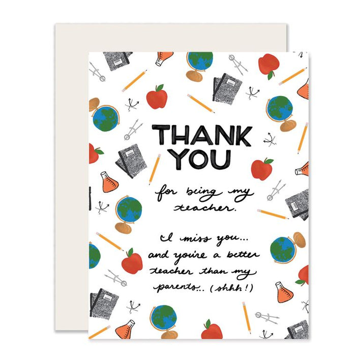 Teacher Thank You - from Student