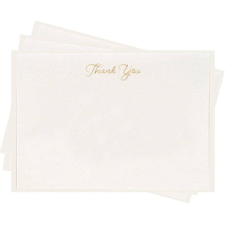 Thank You - Fancy Flat Notes