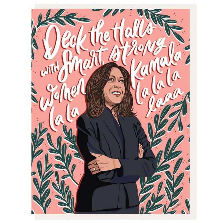 Kamala La La Holiday Card