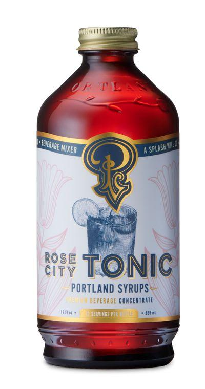 Rose City Cocktail & Coffee Tonic Syrup