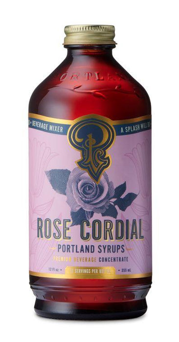 Rose Cordial Cocktail & Coffee Syrup