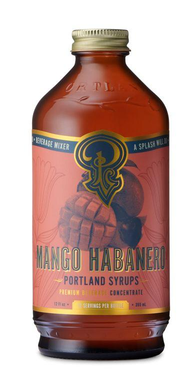 Mango Habanero Cocktail & Coffee Syrup