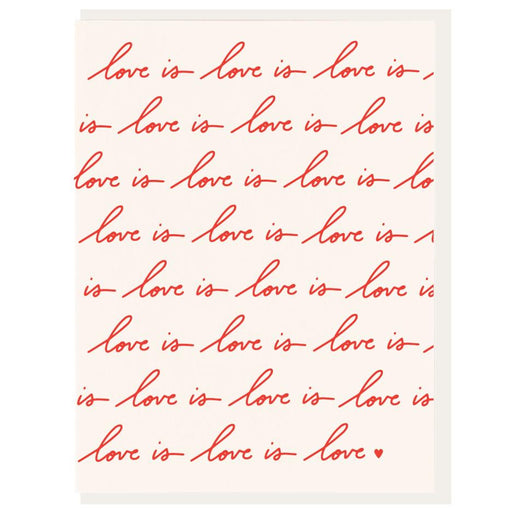 Love Is Love Valentine's Day Card