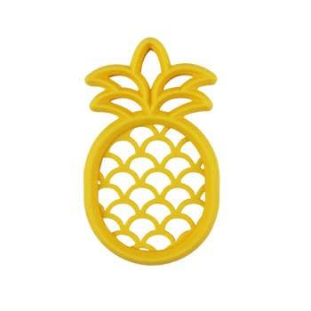 Chew Crew™ Silicone Baby Teethers: Pineapple