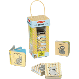 Melissa & Doug Little Animals Book Set