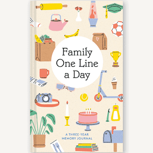 Family One Line A Day Book