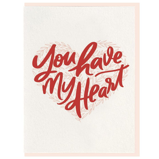 You Have My Heart Card