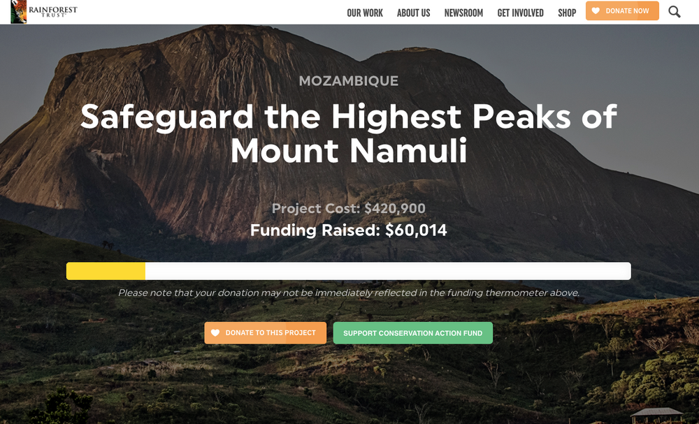 Eco Four Twenty Joins The Movement To Save Mount Namuli! Black Friday Cyber Monday 2020 Announcement!
